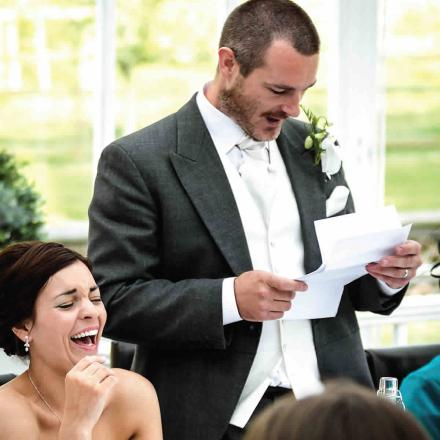 Traditionally Three People Give A Speech At A Wedding Reception