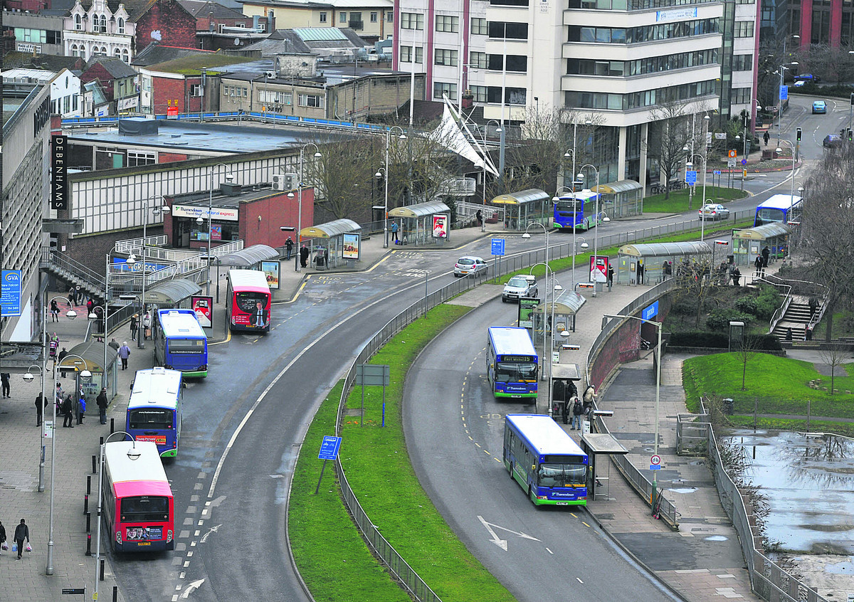 Buses only scheme set for Fleming Way