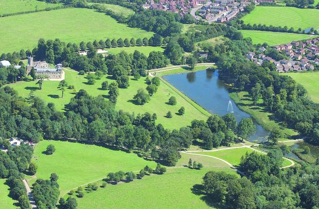 Not for sale: Lydiard Park