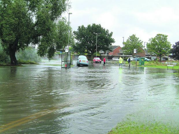 Residents have been asked to give their views to try to prevent scenes like this at the Coleview and Covingham Drive area by the River Cole in 2007