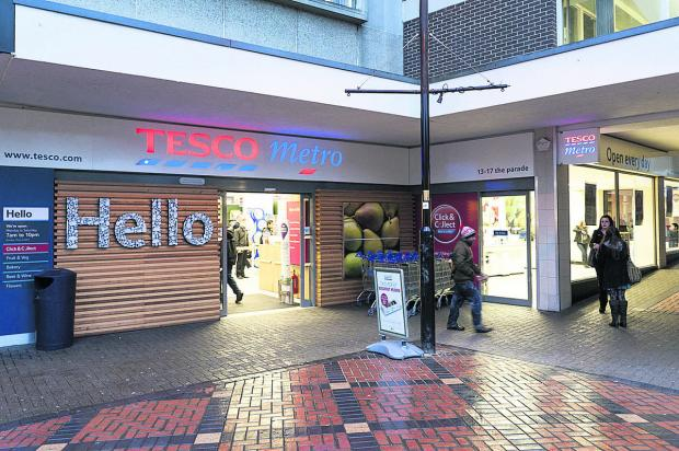 Tesco Metro Swindon town centre where the incident happened  Picture: Alex Skennerton