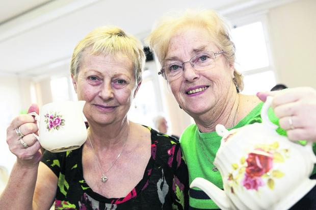 Jackie Hirst and Jill Plant, of Eastcott Community Group