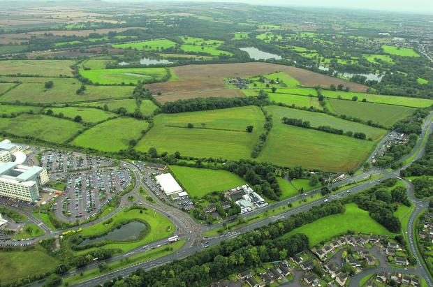 The land at Coate that will be developed for housing