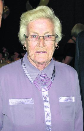 Anne Baxter, the former councillor whose funeral was held yesterday