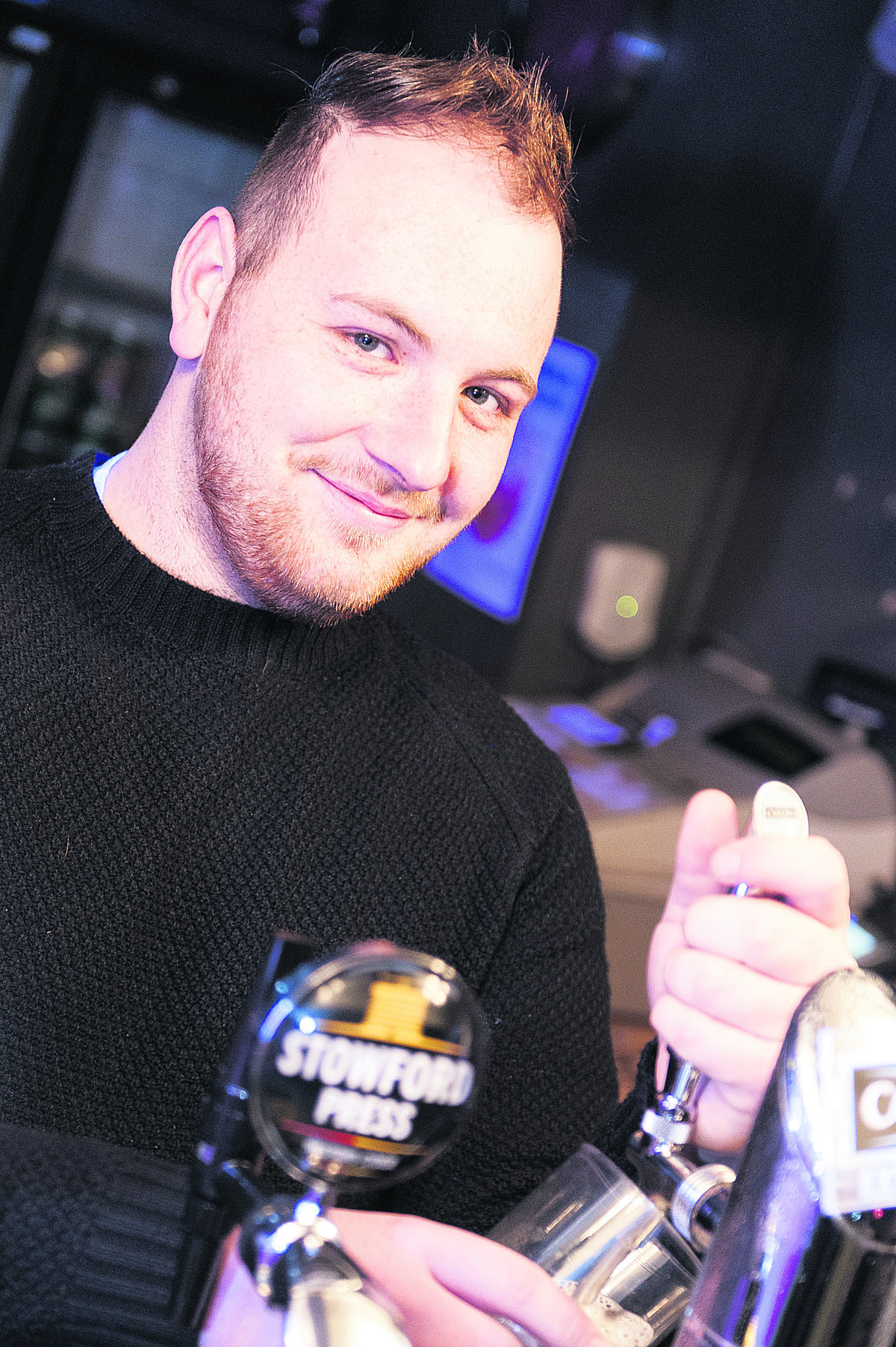 Manager Matt Scott is looking forward to welcoming all clubbers when The Pink Rooms is rebranded as the VIP Club Lounge