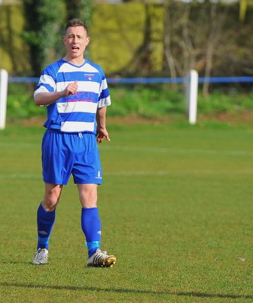 Shrivenham player-manager Sam Collier fears his season is over before it starts