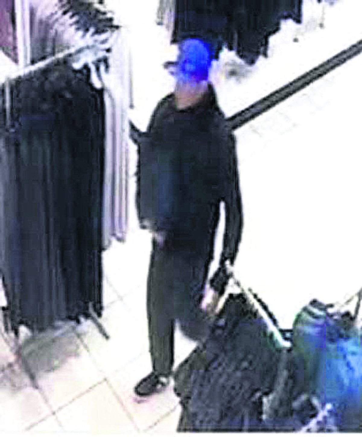 Do you know this shoplifter?