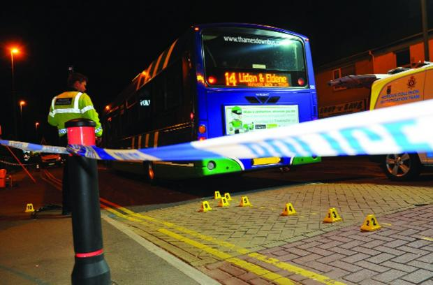 Bus company supports driver involved in crash