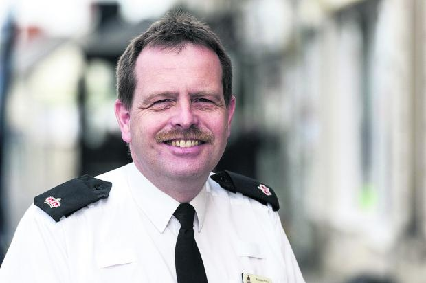 Andrew Carr, the new police superintendent for Swindon