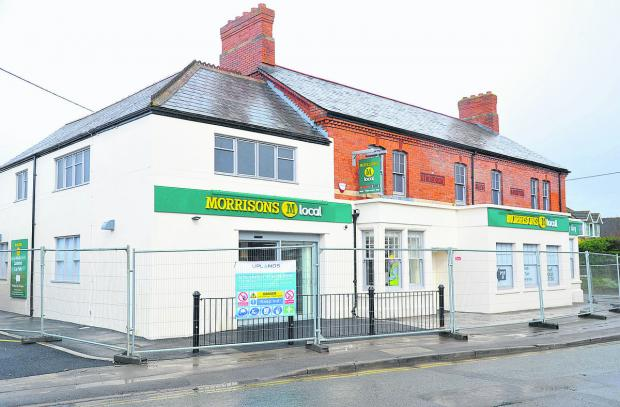 The new Morrisons store on the site of the former Three Tuns