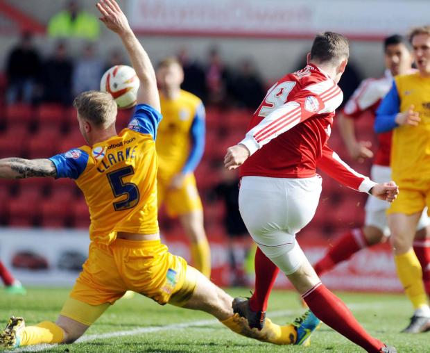 Ben Gladwin was one of a number of Town players to impress