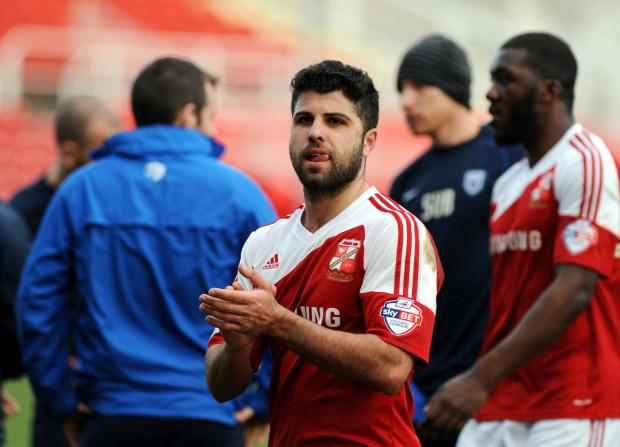 Yaser Kasim missed training with Swindon Town on Thursday