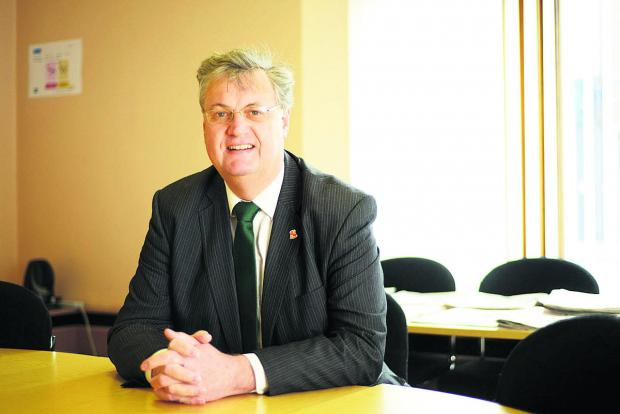 Council leader David Renard in the hot seat