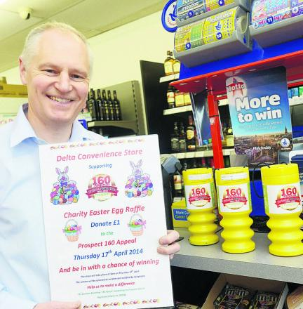 Shops go eggstra mile to aid appeal