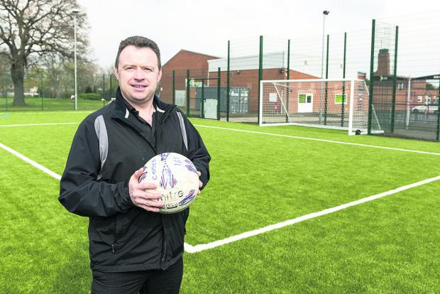 Ian Green, senior operations manager at Grange Leisure, where the new all weather pitch has been such a success it is almost fully booked
