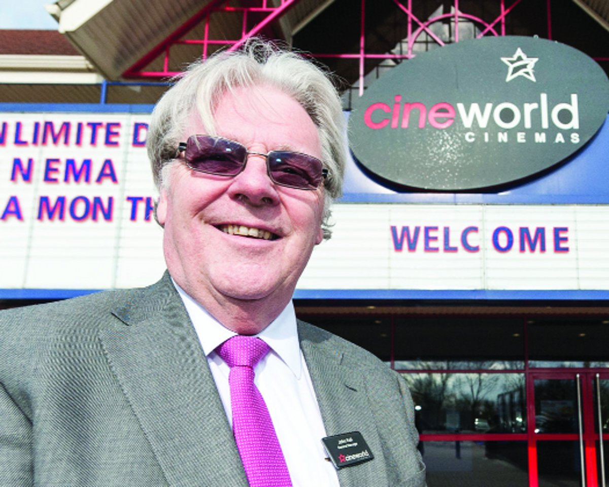Let the credits roll...Cineworld manager retires after 45 years