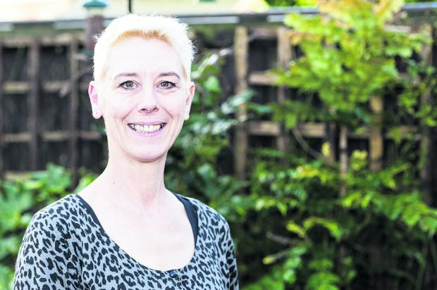 Kate Linnegar, secretary of the Swindon People's Assembly. Picture: ALEX SKENNERTON
