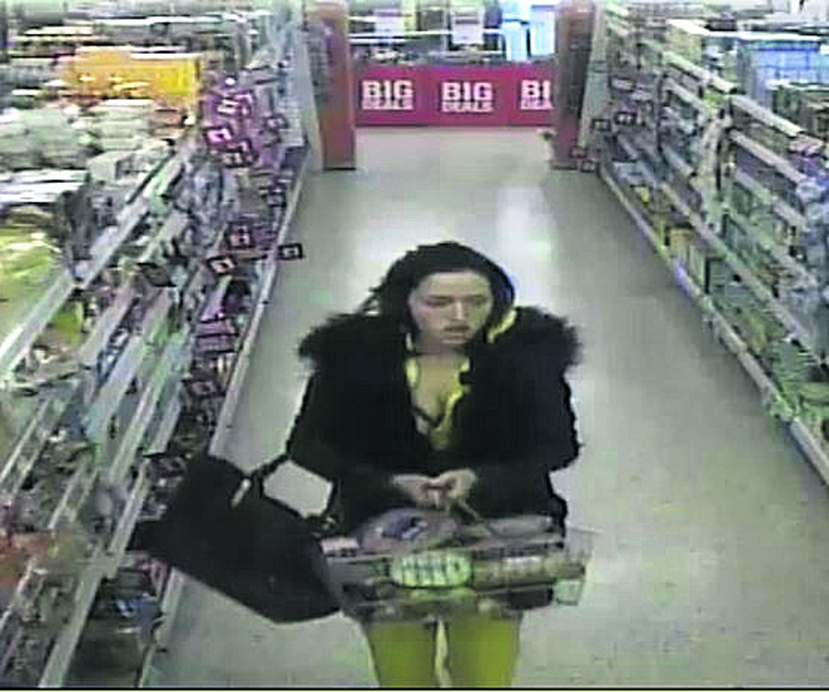 CROOK OF THE DAY: Woman walked out with basket of meat