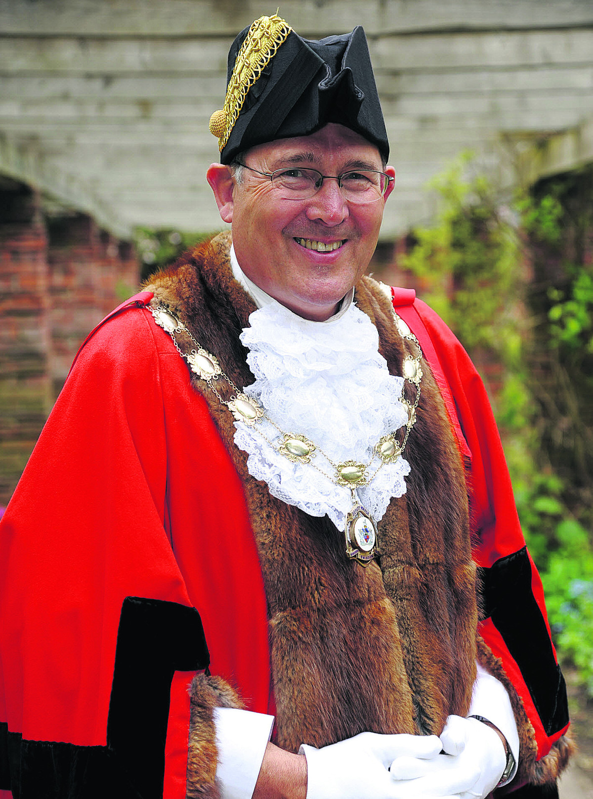 Coun Nick Martin, the current Swindon mayor, who is the subject of two complaints against him