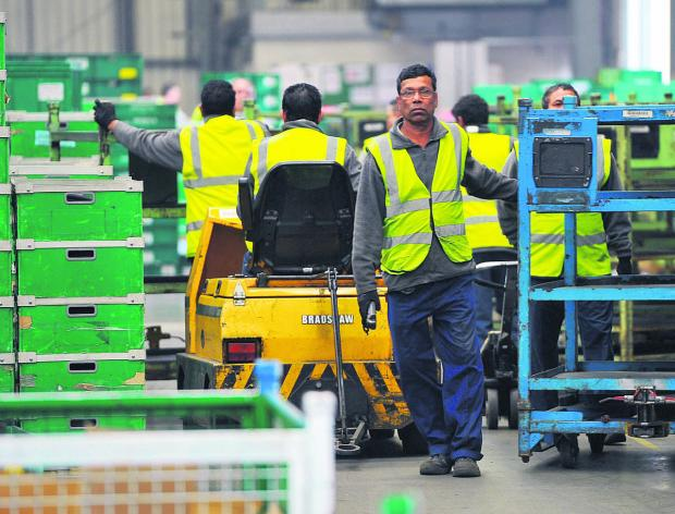Workers at Honda subsidiary South Marston Distribution Centre face a