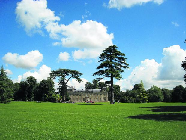 Lydiard Park, in West Swindon, a much loved beauty spot enjoyed by residents