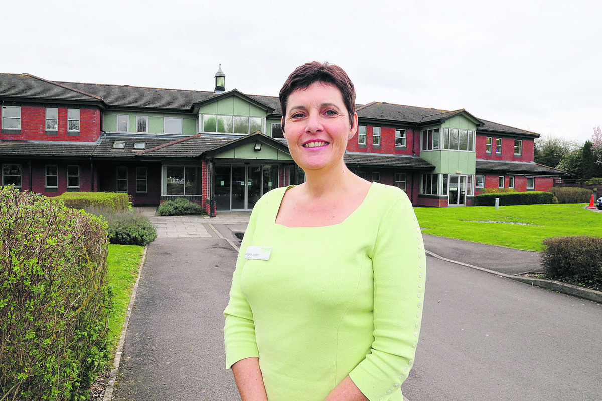 Chief executive of Prospect Hospice Angela Jordan                                  Picture: stuart harrison