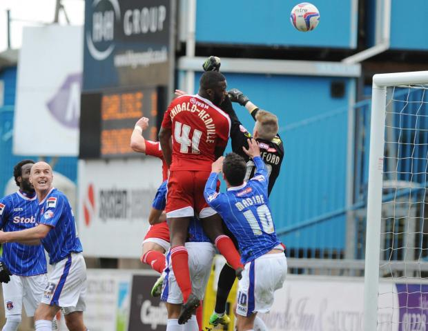 Swindon Advertiser: Troy Archibald-Henville is reported to be set to sign for Carlisle United