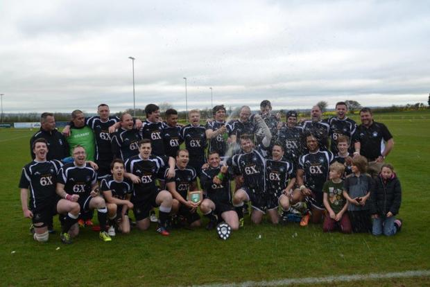Wootton Bassett celebrate their Shield success