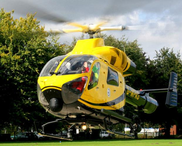 Awards night raises £2,000 for Air Ambulance