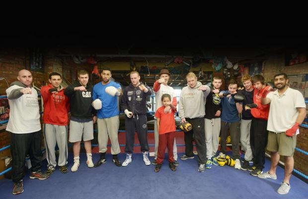 Members of Fitzpatrick's Gym