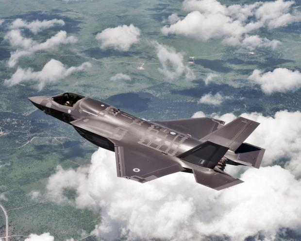 The F-35 Lightning II will make its international debut in July at the Royal International Air Tattoo