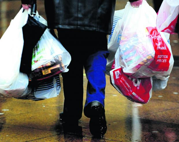 Shoppers may have to pay for plastic bags in future