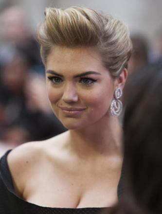 Model Kate Upton, born on this day in 1992