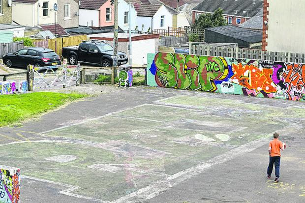 Swindon Advertiser: Savernake Street play park