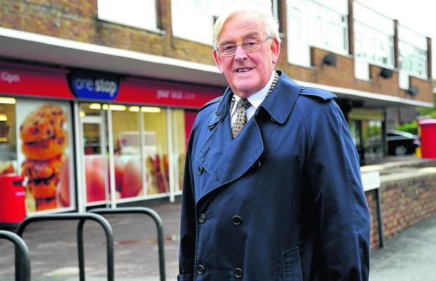 Long-serving councillor Mike Bawden, who is to stand down at the elections this year