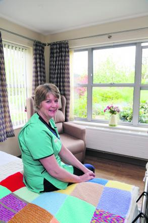 Hilary Sinclair, the in-patient unit manager at Prospect  pictured in the unit which now has 16 beds for terminally ill patients