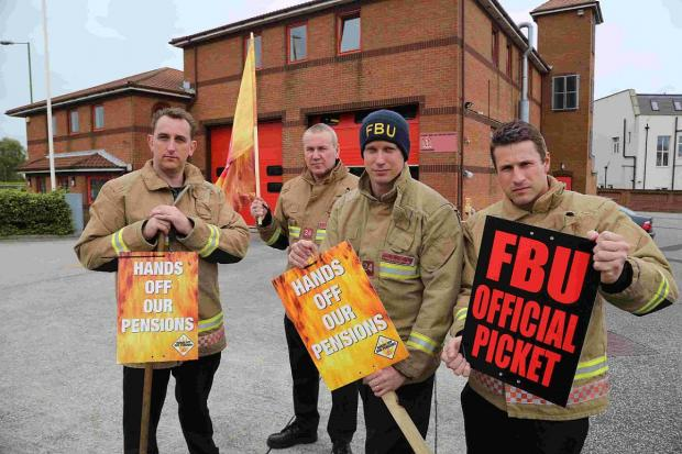 First 24-hour firefighter strike announced after minister ploughs ahead with 'unworkable' pension scheme
