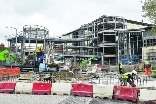 Swindon Advertiser: The Regent Circus development
