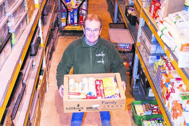 David Hartridge, from Swindon Foodbank