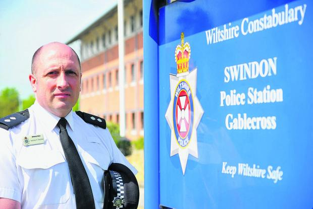 Inspector Antony Ducker of North Swindon police
