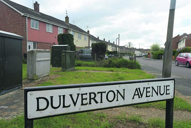 Dulverton Avenue, where the attack took place