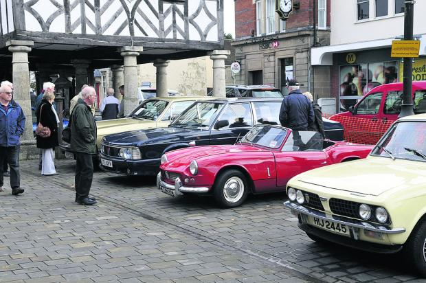 Royal Wootton Basett's Classic Car Club display last year. A range of classic vehicles from different eras will be on show this year