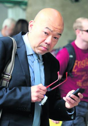 Dr Michael Chongkee Lok, who has been convicted of taking indecent images of a child
