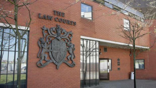 Richard Lowe pleaded guilty to one charge of burglary when he appeared at Swindon Crown Court