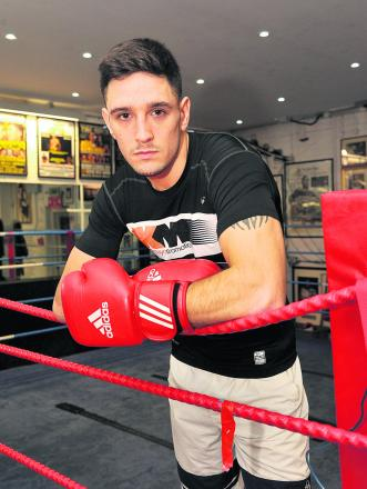 Swindon boxer Kelvin Young