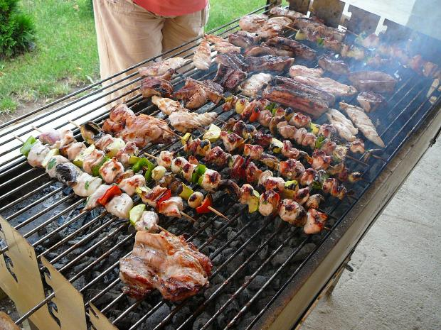 The barbecues will be out in force this weekend - and you can rent a big one at Lydiard Park