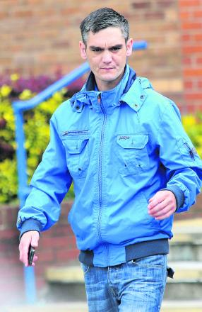 Gary Turner, pictured leaving Swindon Magistrates Court yesterday