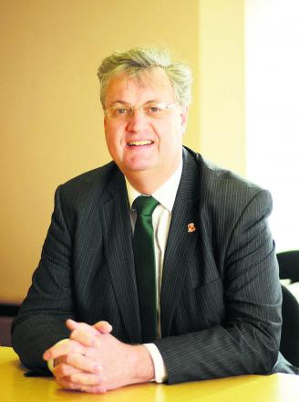 Swindon Council leader David Renard