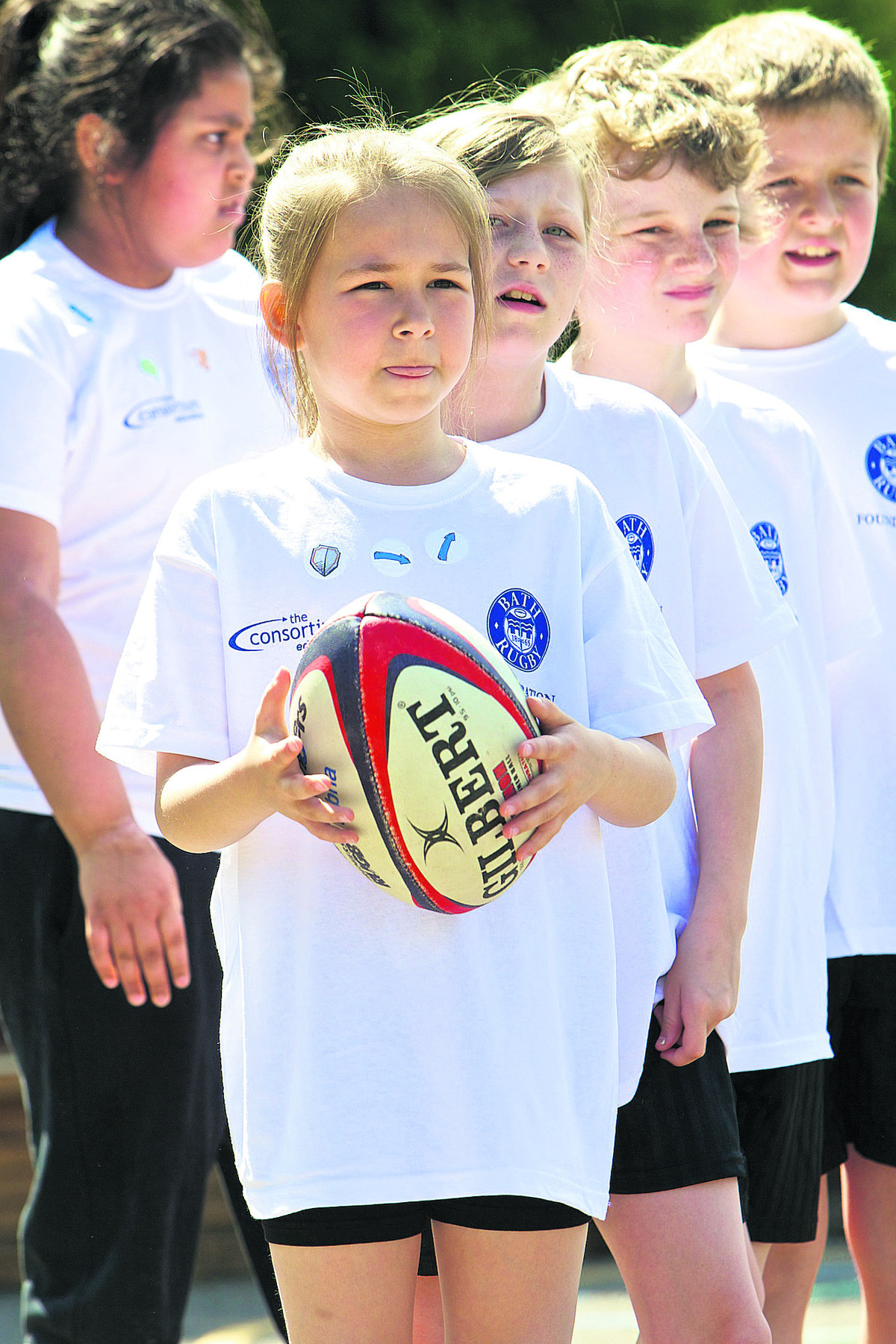 Pupils build up their confidence with rugby