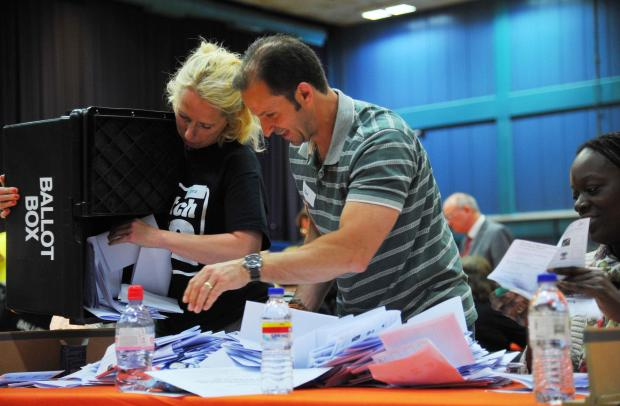 Swindon Advertiser: LOCAL ELECTION: Tories celebrate as Labour rue UKIP gains
